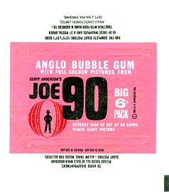 Anglo bubble gum wrapper - pink version