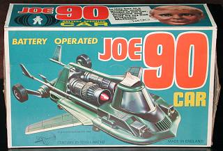Joe 90 Battery Operated Car box