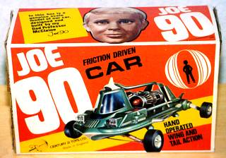 Joe 90 Friction Drive Car box