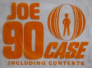 Joe 90 Case - polythene wrapper