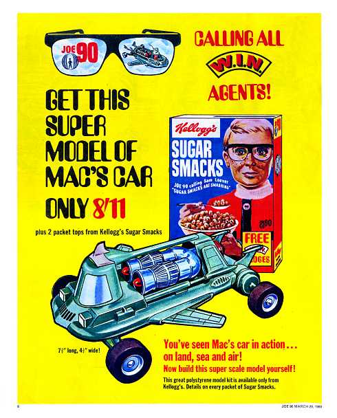 Advert for Mac's Car