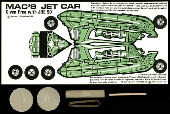 Mac's Jet Car Kit
