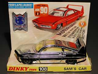 Sam's Car on display tray