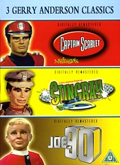 3 Gerry Anderson Classics DVD box set