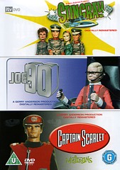 The Triple Collection - Stingray, Joe 90, Captain Scarlet